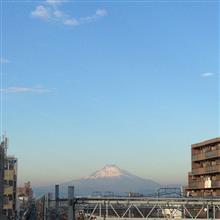 今日の富士山。17,12,21