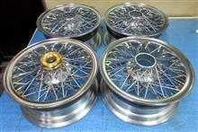 ワイザー15インチ/バレル研磨再錆び防止パウダークリアーコーティング