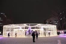 札幌ホワイトイルミネーションを見てきました。2017-12-23