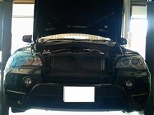 X5 ブレーキパッド&ローター交換