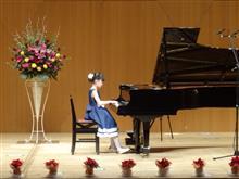 姫のピアノ発表会があったよ