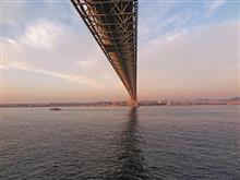 兵庫県明石海峡(ジャンボフェリー)