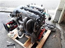 予想以上に重かったSR20DETエンジン!