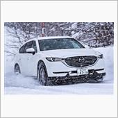 『CX-8 四駆モデル 雪道 ...