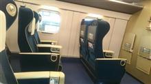 今日はグリーン車で軽井沢に出張🎵