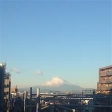 今日の富士山。17,12,27