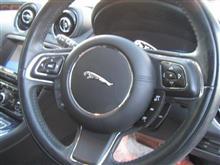 ジャガー ホイールリペア 車内のボタンクリーニング
