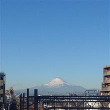 今日の富士山。17,12,28