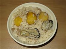 (今年分⑮) 鍋スープパックの炊き込み御飯