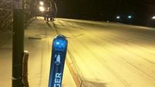 17-18 スキーNO.7  今年最後の豊富温泉スキー場ナイター
