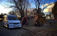 マイナス8度の冬キャンプ