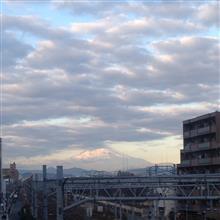 今日の富士山。17,12,29
