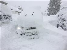 大雪警報発令中 備えあれば憂いなし