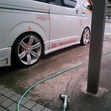 2017/12/29 昼から整備しようと思っていたが…洗車だけで終わる今日1日…