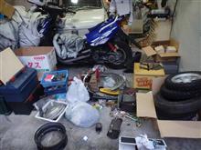 ガレージの小整理