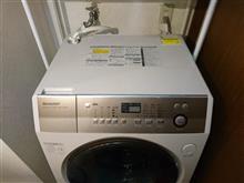 ドラム式洗濯機内部の埃取り実施。
