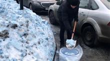 恐ロシア!住人震撼、何故か「蒼い雪」が降り出して大騒ぎになる