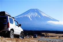 富嶽ノ原で年末キャンプ