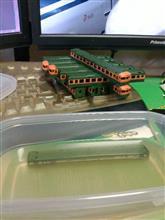 鉄道模型 IPA による 脱色