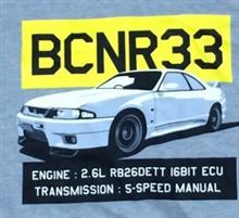 R33のパーカ