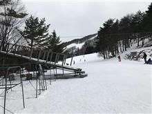 今年初スキー?