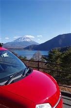 富士と秘湯の甲斐路