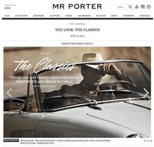 THE CLASSICS - Vintage cars and timeless menswear pieces