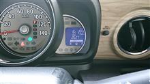 給油は4回目、燃費計測は2回目。