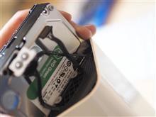 動作のあやしくなってきた Time Capsule の ハードディスクを換装してみた...