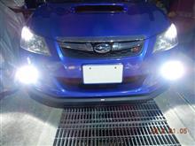 【fcl.】新型LEDヘッドライト フォグランプ ファンレス(HB4) モニターレポートその3・インプレッション編(純正との比較)