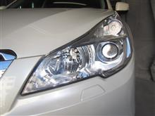 ヘッドライトの黄ばみ予防!