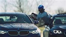 BMWドリフト世界記録のために給油がすごい\(◎o◎)/!