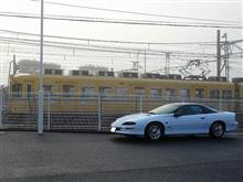 一畑電車2100系 2102号&2112号 引退ラストラン ③