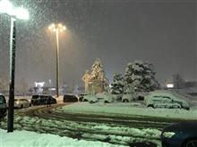 新潟大雪 !