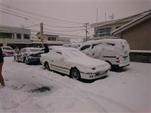 この冬いちばんの寒波襲来!ソアラは通勤おやすみ?