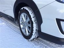 スタッドレスタイヤ「アイスアシンメトリコ」の新品時の硬度