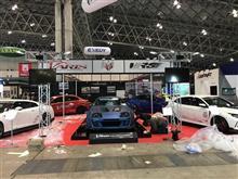 2018東京オートサロン、準備完了