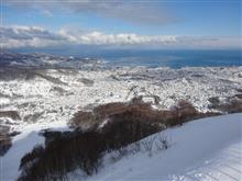 北海道ローカルスキー場29 小樽天狗山スキー場