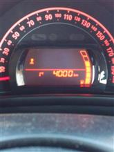 4,000km♪