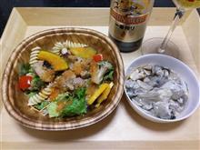 夕食に牡蠣