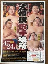 大相撲取手場所