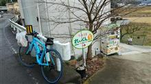 【自転車】粉雪舞う中シュークリームライド