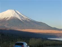冬らしい富士山 やっと