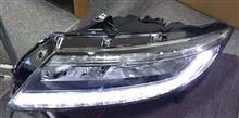 ZF1にZF2後期LEDヘッドライト 点灯テスト