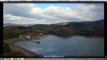 奈良県白川ダムにて空撮^^