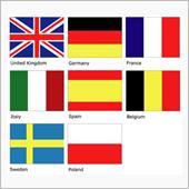 2017年、欧州8か国市場に ...
