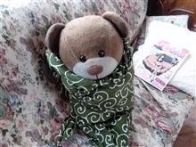 とても寒くて分身熊はクマ宅で冬眠開始・・・・クマさんだけ