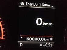 60,000km到達!!