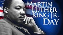 Martin Luther King Dayにて