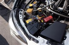 新型スバル車用バッテリーマイナス端子カバーサンプル完成!
